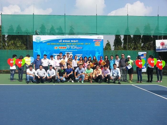 Khai mạc giải Tennis - Lê Trần Tân Phú Cúp 2017